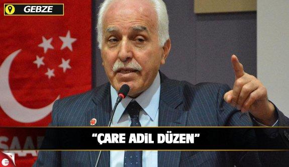 Kamalak Gebze'de konuştu