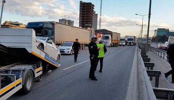Polisten kaçan şüpheliler Basın Ekspres'i birbirine kattı