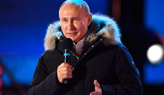 Putin yüzde 75 ile kazandı: Rusya için önemli işler yapacağız
