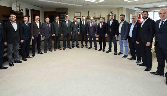 Trabzonlulardan Karaosmanoğlu'na teşekkür