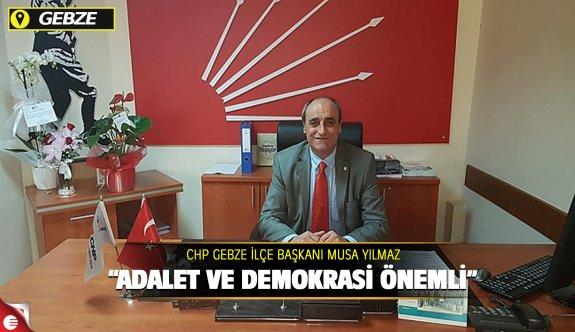 """""""ADALET VE DEMOKRASİ """" SEMPOZYUMU AÇIKLAMASI"""