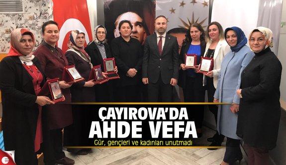 AK Parti Çayırova'da ahde vefa
