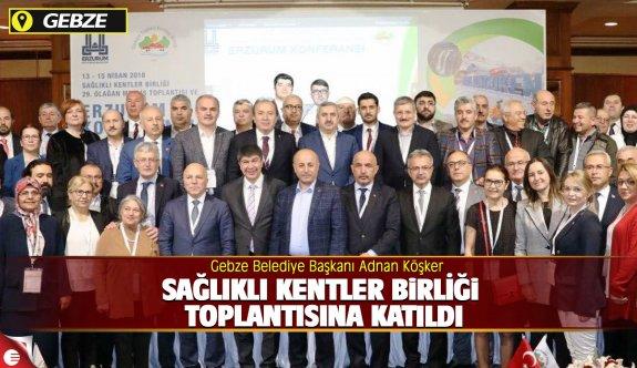 Başkan Köşker Sağlıklı Kentler Birliği Toplantısına Katıldı