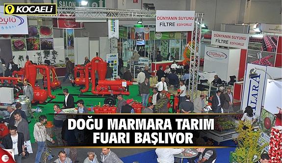 Doğu Marmara Tarım Fuarı başlıyor