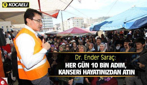 Dr. Ender Saraç, Pazar'da sağlık sırlarını verdi