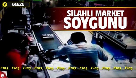 Gebze'de silahlı market soygunu!