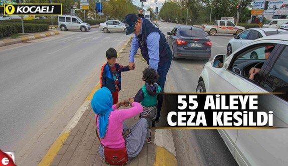 Kocaeli'de Çocuğunu çalıştıran 55 aileye ceza kesildi