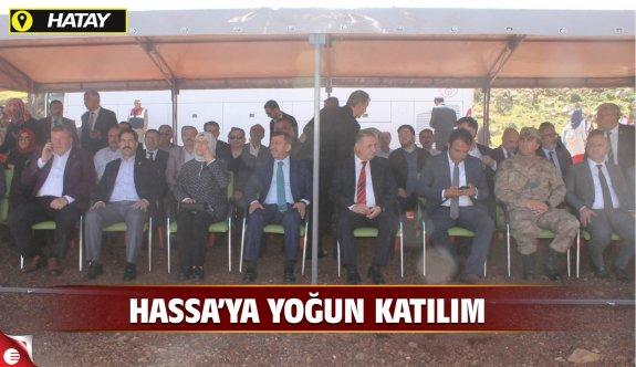 Kocaeli'den Hassa'ya yoğun katılım