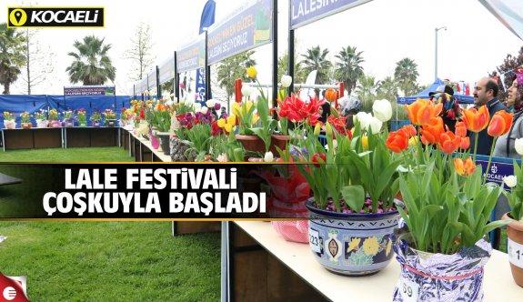 Lale festivali coşkuyla başladı