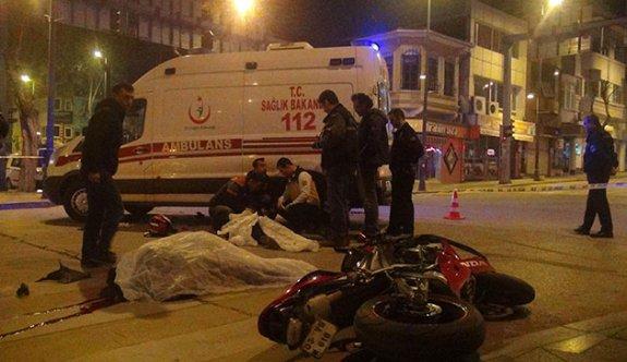 Motosikletle deneme sürüşü faciayla bitti: 2 ölü
