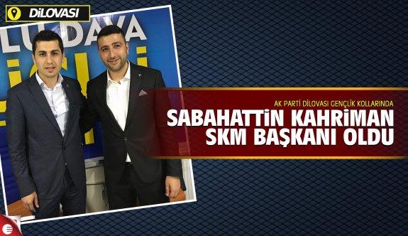 Sabahattin Kahriman SKM Başkanı oldu