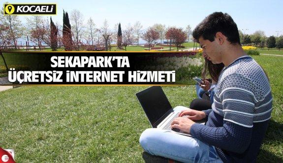 Sekapark'ta ücretsiz internet hizmeti