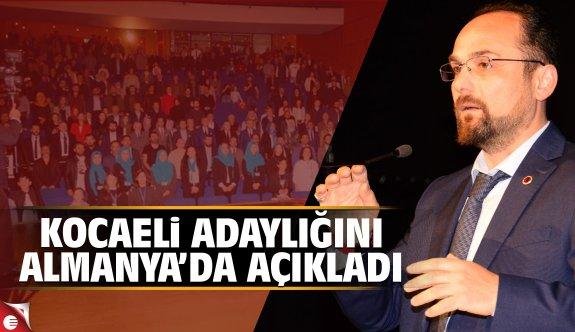 Abdullah Sönmez MHP'den aday oldu