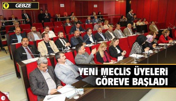 Yeni meclis üyeleri göreve başladı
