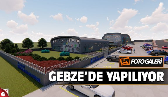 Gebze'de dev spor kompleksi için temel atıldı