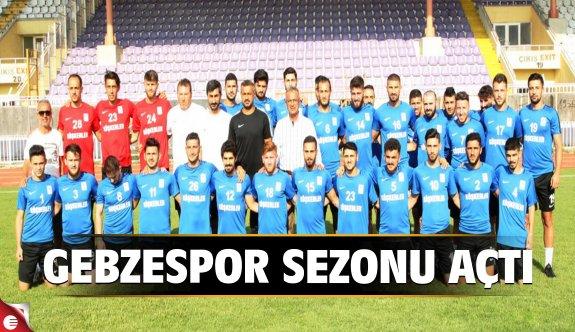 Gebzespor yeni sezonu açtı