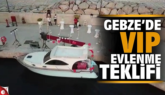By Ferdi Gülseven Organizasyon'dan VIP Evlenme teklifi