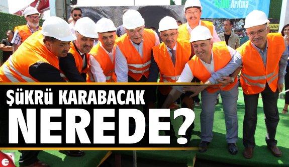 Şükrü Karabacak nerede?