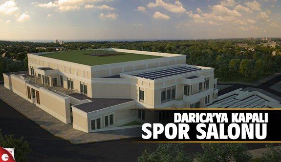 Darıca'ya kapalı spor salonu