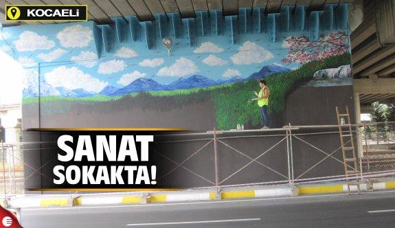 Sanat sokakta!