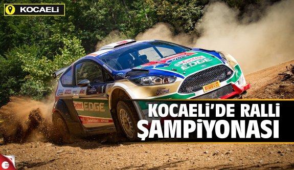 Kocaeli'de ralli şampiyonası