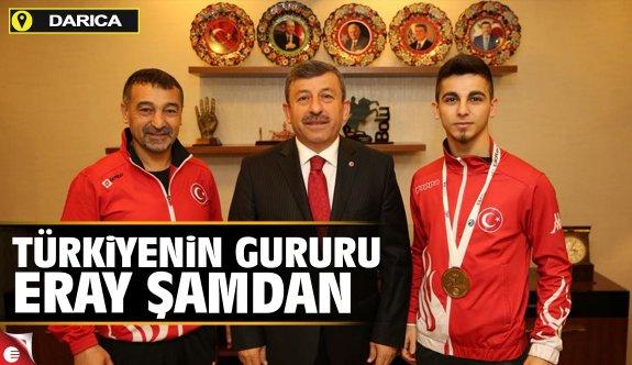Türkiyenin gururu Eray Şamdan