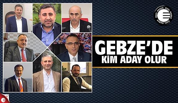 AK Parti Gebze'de kim aday olur 2019