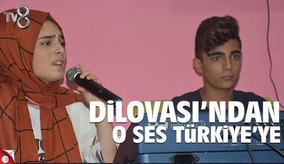 Dilovası'ndan O Ses Türkiye'ye seçildi