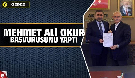 Mehmet Ali Okur aday adayılığını açıkladı