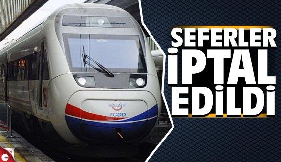 Ankara-Kocaeli seferleri iptal