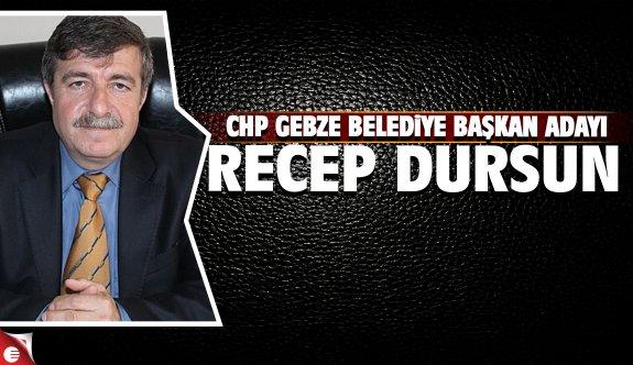CHP Gebze Belediye Başkan Adayı Recep Dursun oldu