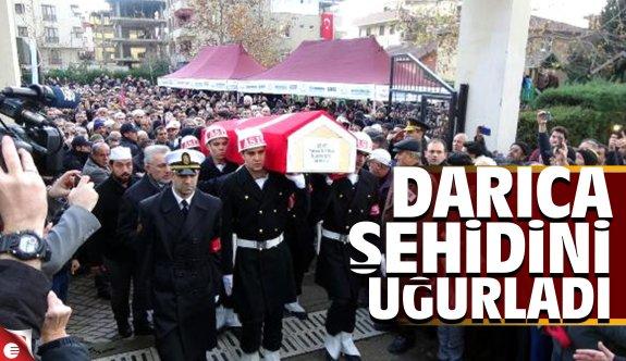 Darıca şehidi Yakup Gitmez'i uğurladı
