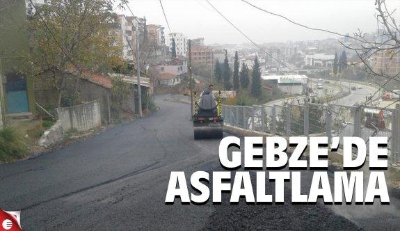 Fen İşlerinden sıcak asfalt çalışması