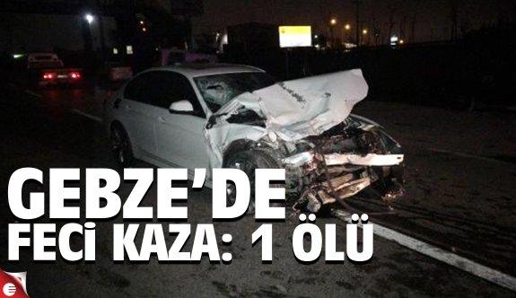 Gebze'de feci kaza: 1 ölü 4 yaralı