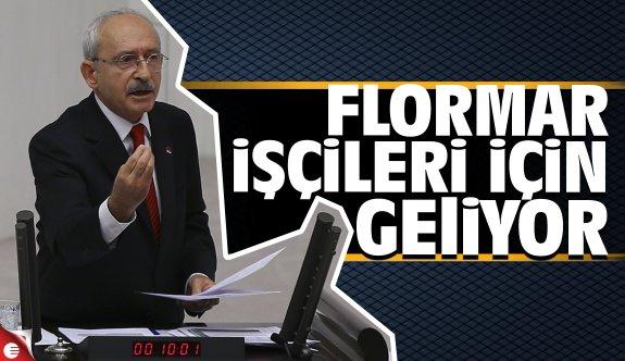 Kılıçdaroğlu Flormar için geliyor