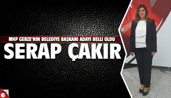 Serap Çakır MHP Gebze Belediye Başkanı Adayı oldu