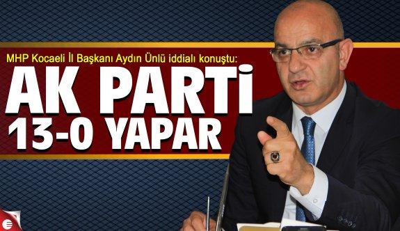 Aydın Ünlü AK Partililerden daha iddialı