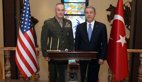 Bakan Akar: PKK/YPG bir an önce bölgeden çıkarılmalı