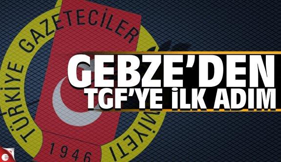 Gebze'den TGF'ye ilk adım