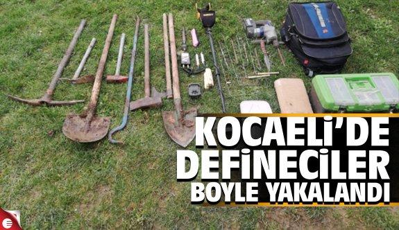 Kocaeli'de 5 defineci yakalandı
