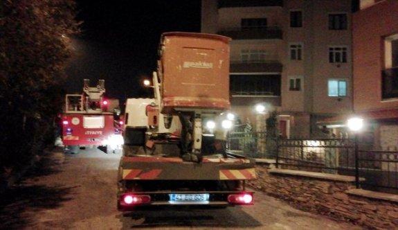 Kocaeli'de korkutan ev yangını