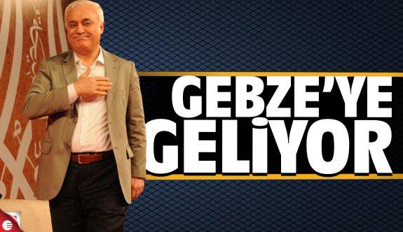 Nihat Hatipoğlu Gebze'ye geliyor