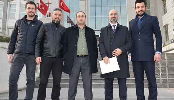 Trabzonsporlulardan hakeme suç duyurusu