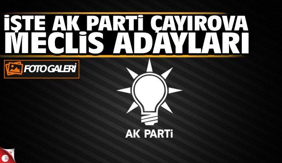 AK Parti Çayırova Meclis Üyesi Listesi 2019 (FOTO GALERİ)