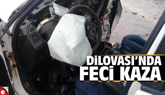 Dilovası'nda feci kaza: 3 yaralı