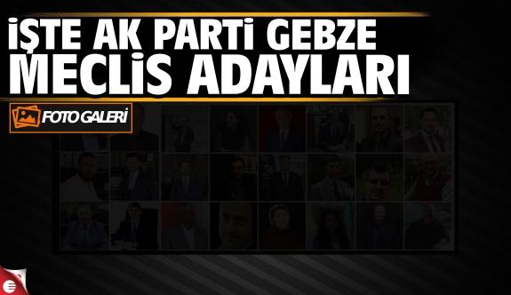Gebze Meclis üyesi listesi açıklandı (FOTO GALERİ)