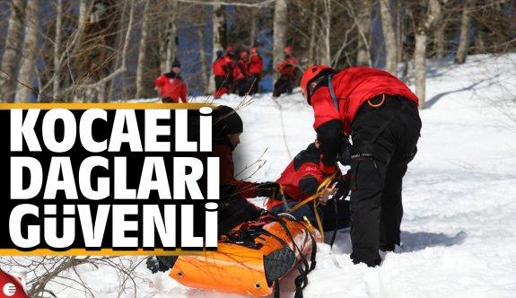Karda kurtarma eğitimi ile hayat kurtaracaklar