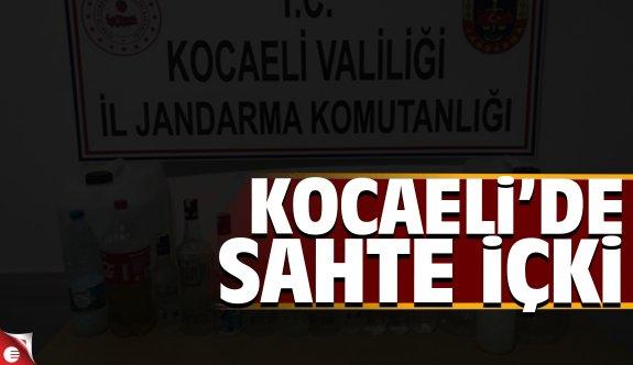 Kocaeli'de kaçak içki operasyonu