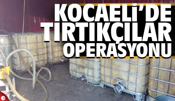 Kocaeli'de tırtıkçılar operasyonu