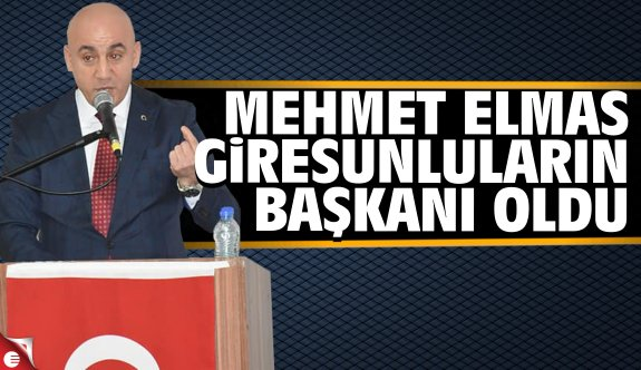 Mehmet Elmas KOGİDEF başkanı oldu